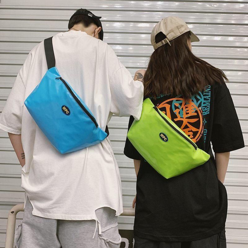 Große Kapazität Fanny Pack Taille Gürtel Bag Street Trend Crossbody Brust Pack Mode Unisex Schulter Taille Taschen Neue Hip Hop Bag