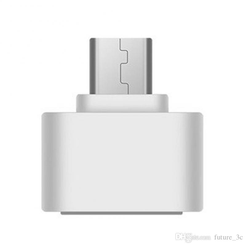 Micro USB to USB3.0 OTG Expansion Adapter Metal Housing For Cell Phone Interface For Most 5 pin Micro USB Smart Phone