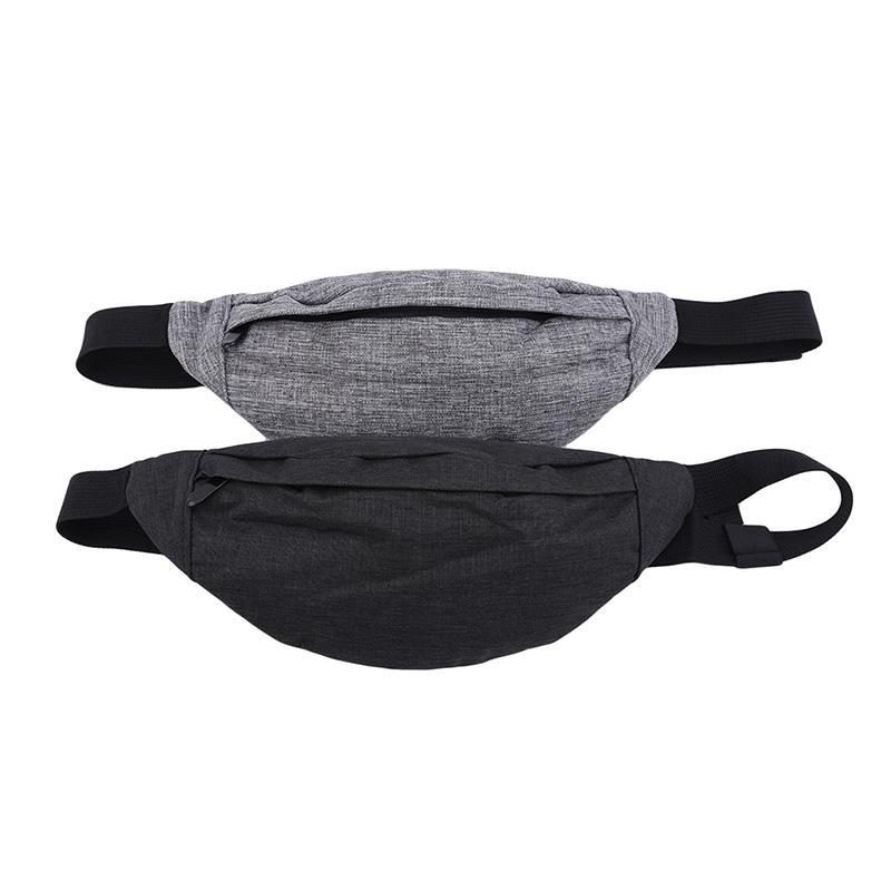 Casual Sac Sac Mens Coffre Casual Taille Casual Fitness Toile Rouler Poches Poches Portable Mode Mode pour Homme XVHKP
