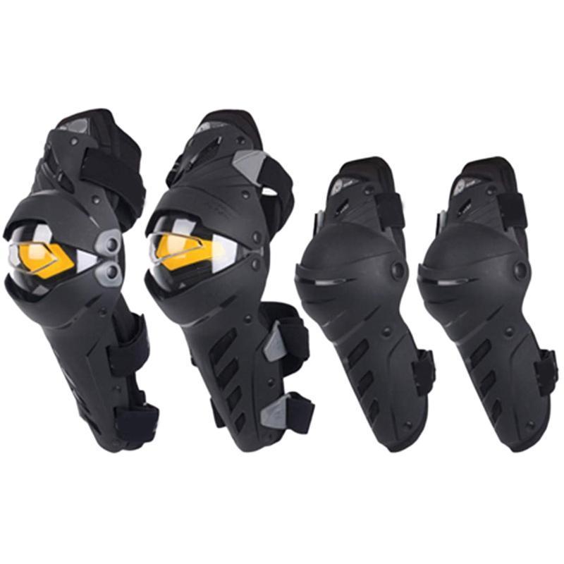 Motocicleta Knee Codo Combo Linkerad Para Hombres Protectores Deportes Guard Motocross Protector Gear