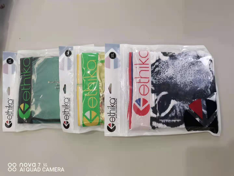 Yeni Tasarımcı Ethika Erkek Iç Çamaşırı Boxer Premium Pamuk Boksörler Erkekler Iç Çamaşırı Seksi Nefes Külot Beach Cuecas Masculina Boxers2