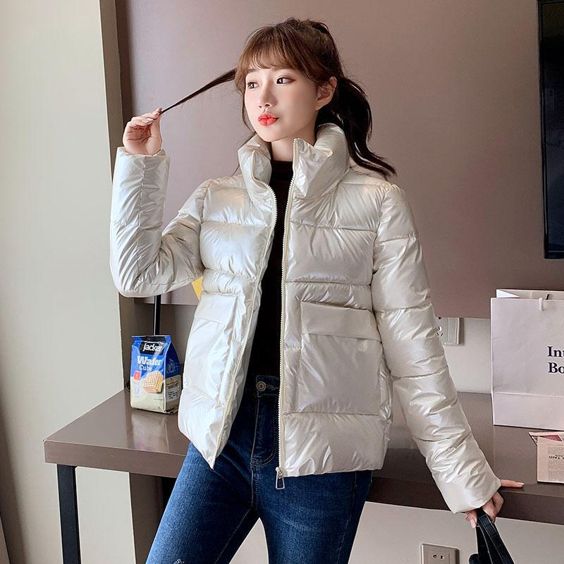 Women Winter parkas 2020 New Solid thicken warm windproof jackets snow coat for female size