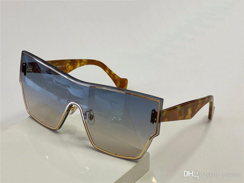 New Fashion and Popular Design Sunglasses 40041U One-Piece Cat Eye Full Frame Frame Femmina Charm Fashion Style Top Quality