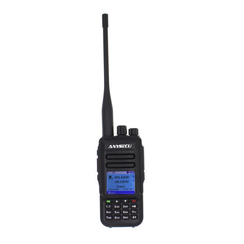 Anysecu Dual Band Dual Time Slot DMR Numérique Analogique Deux Way Radio DM-UV450 136-174 400-470MHz Walkie Talkie mieux que MD2020