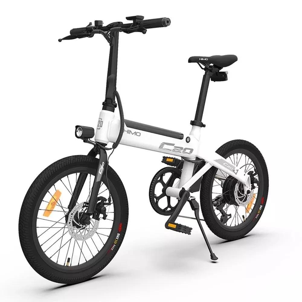 (Stock UE!) HIMO C20 Bike ciclomotore elettrico C20-ebike 250W Motore da 20 pollici grigio Bicicletta elettrica bianca da Xiaomi Youpin
