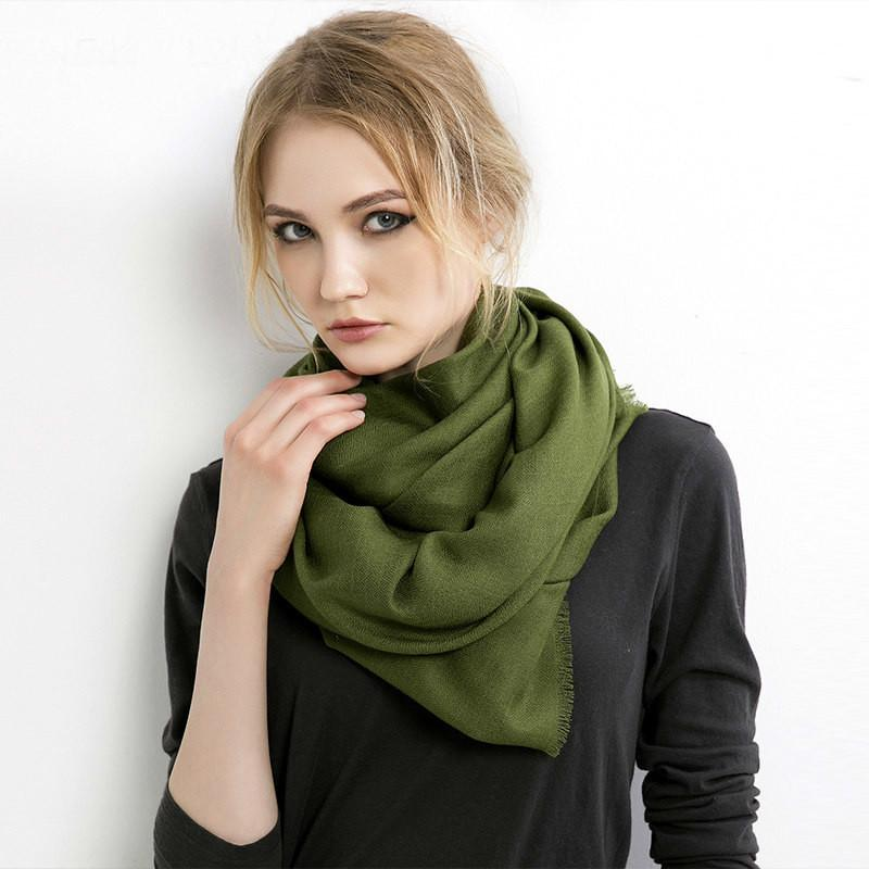 Volva as mulheres do modelo Scarface Modelo Outono Outono Cashmere CacheCols Lady Pashmina Hot Xale Long Wraps Band Foulard