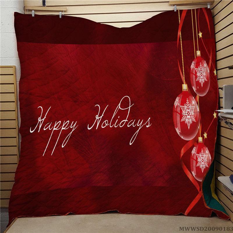 Hotsale Merry Christma Уникальный дизайн Одеяло Super Soft Unique Bed Set For All Seasons Спальня украшение