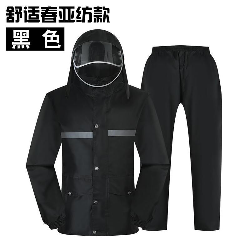 Yağmurluklar Su Geçirmez Erkekler Rainwear Panço Motosiklet Islak Hava Dişli Yağmur Ceket Camo Kadınlar Veste Pluie Suit Balıkçılık için EB50YYY