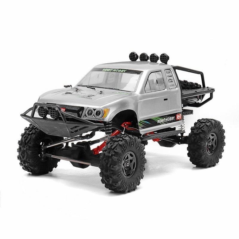 RCtown Remo Hobby 1093-ST 1/10 2.4G 4WD À Prova D 'Água escovado RC CARR OFF-ROAD ROGO ROCK ROWLER ROGOS TRUCK RTR TOY Y200413