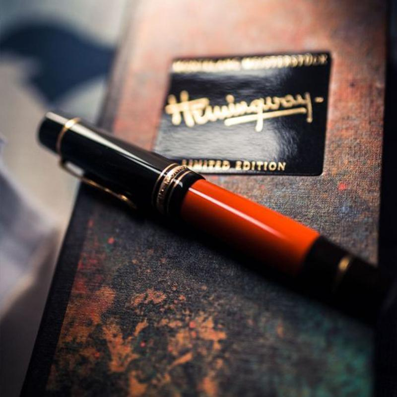 Caneta esferográfica Hemingway Assinatura Escrita Pen Office Acessórios Rollerball Escolar de papelaria