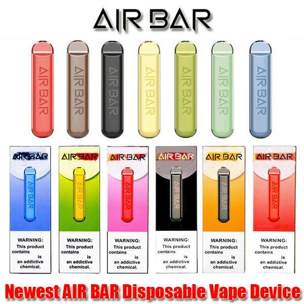 Mais novo Air Bar Dispositivo descartável Vape Pen Pot Kit 380mAh Bateria 500 Buffs Pre-cheios Vapors Sistema Portátil Starter Kit Kit Lux