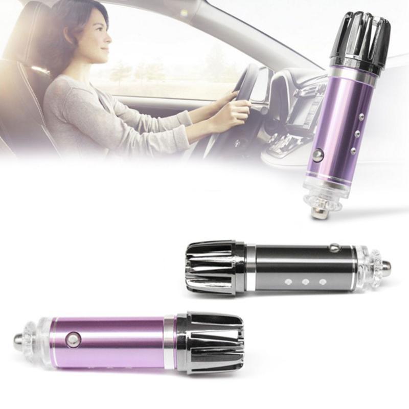 Car Air Freshener Powerful Purifier Oxygen Bar Ionizer For Universal 12V Cigarette Lighter Plug1