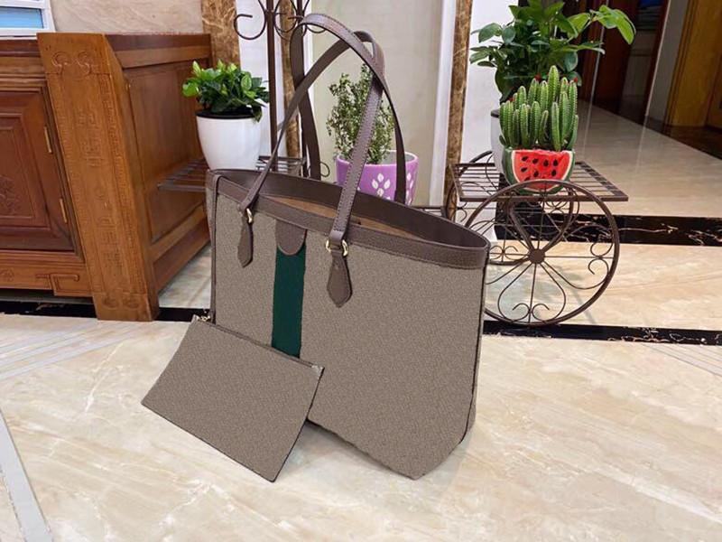 Klasik moda lüks kadın çanta rahat pratik cömert kadın tuval büyük ve küçük alışveriş çantası anne çantası ZP040