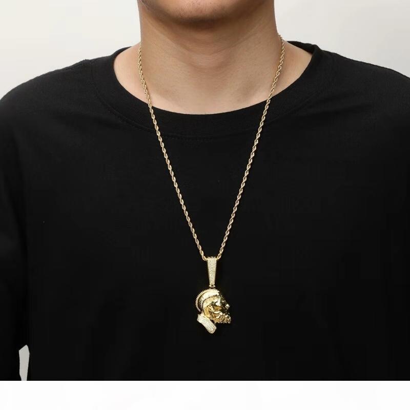 Gelado fora Nipsey Hussle Pingente Colar para Homens Mulheres Designer de Luxo Bling Diamante Estrela Fãs Membre-se Pingente 18K Presente de Jóias Banhado A Ouro