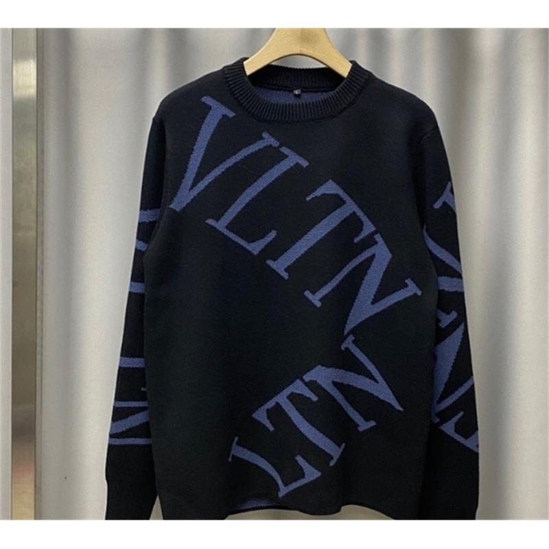 20FW Nueva llegada de la marca diseñadora suéter algodón famoso pullover Top Ropa de lujo para hombres y mujeres Carta 201021