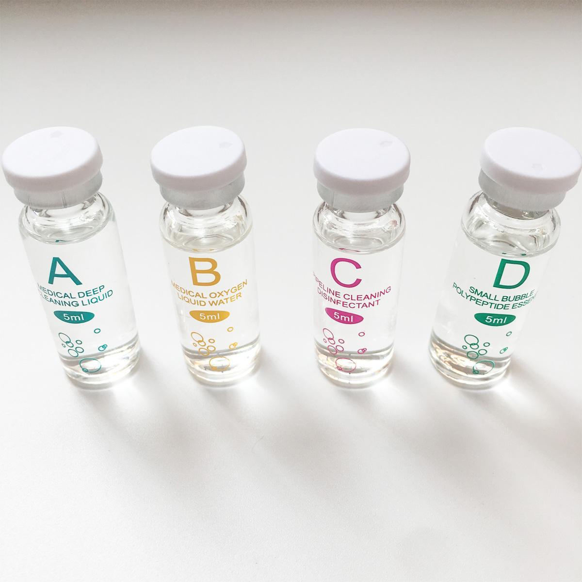 Serum Aqua تقشير محلول الجلد نظيفة جوهر المنتج لآلة الجمال هيدرا الوجه التجميل