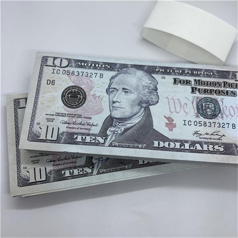 Cadeaux Copier Real VPNTI Monnaie Props Afficher les jouets pour enfants Jeu de fête Money Livraison magique papier rapide US T41 Design gxtni