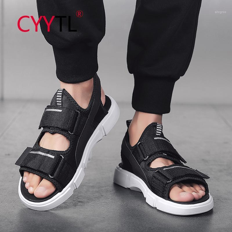 Sandalias Cyytl Men Zapatillas Zapatos de playa al aire libre Slips Fashion On for Casual No-Slip Walking Flip Flops Claquette Homme1