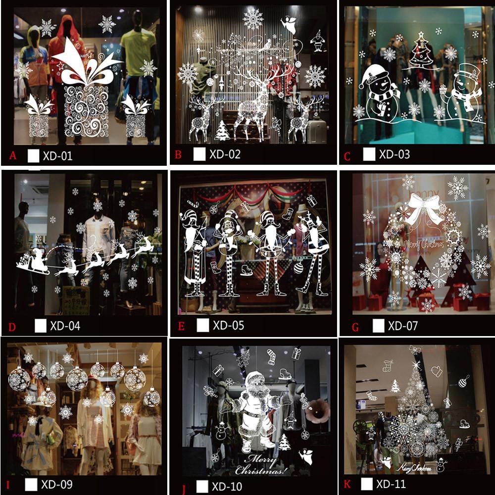 Рождественский снеговик Съемный дом Виниловые стены наклейки на стену наклейки декор наклейки