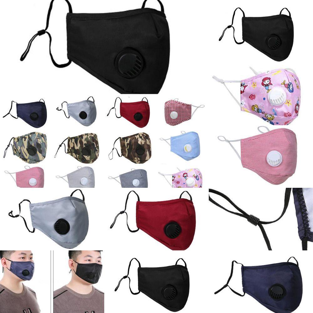 Toz Geçirmez Yüz Tasarımcısı Maske Ağız ER PM2.5 Anti-L Yıkanabilir Kullanımlık Buz İpek CO JF4S 15JQ