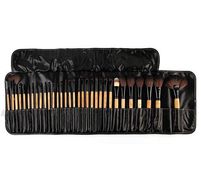 Venta caliente de alta calidad al por mayor-32pcs pinceles de maquillaje suave de maquillaje profesional componen el kit de herramientas del cepillo del cepillo