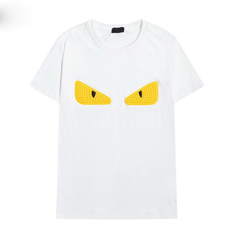 2021 Nouveau design de mode d'été T-shirts pour Hommes Tops Lettre de luxe Broderie T-shirt Mens Femmes Vêtements Courts à manches courtes Tshirt Hommes Tees