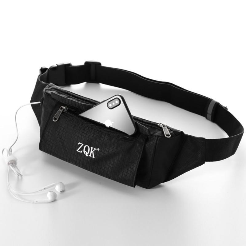 Мужчины водонепроницаемая сумка износостойкая сумка Многофункциональные твердые талия, устойчивые к бедрами для спортивных беговых пояса сумка QRWEC