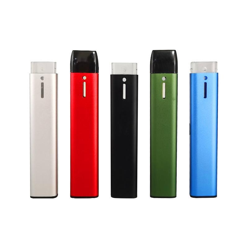 Más nuevo recargable vapeable vape lápiz vacío desechable e-cigarrillos de inicio kit de inicio 210mAh capacidad de batería 1 ml Tanque de prensa en la boquilla