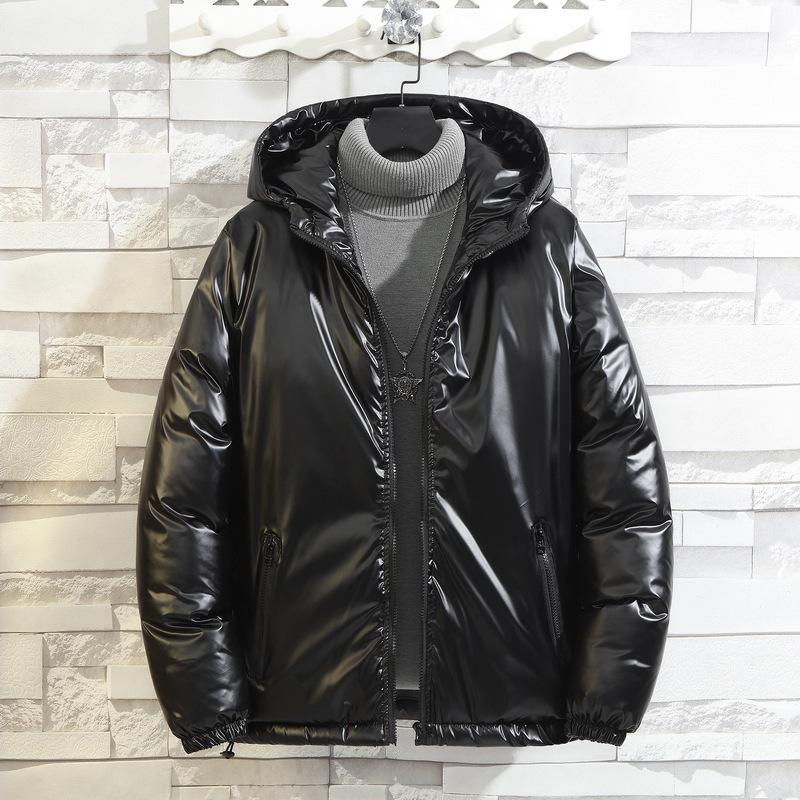Мужская пуховика Parkas зимняя куртка с капюшоном большой размер 8xL теплый пальто ветровка мужчина осень толстый хлопчатобумажный PADD термальные парки мужчины