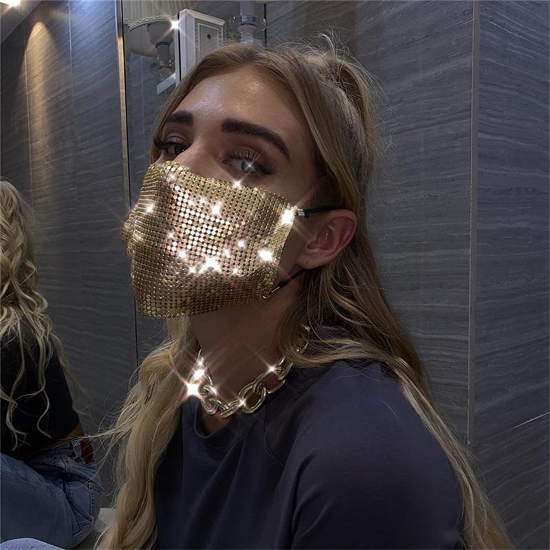 9 Couleurs Masques Saisissements Bling Designer Femme Femme Femme Fête Décoratif Masque Chaud Vente DHE1175