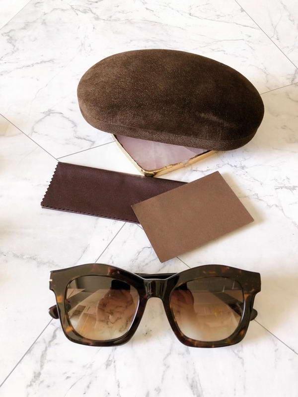 Shades Greta Lens Donne Black Sunglasses Gradiente Occhiali da sole Signore Grigio Grigio Qualità 431 Hight Glasses with box wfvko