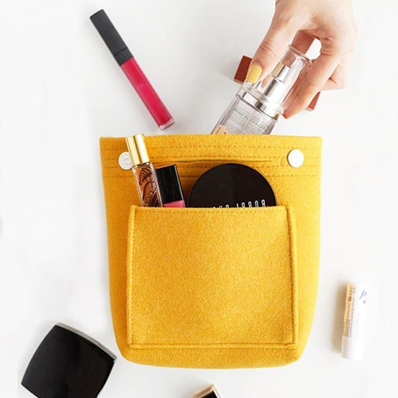 Bolsa de almacenamiento ligero reutilizable Bolsas cosméticas universales al aire libre Organizador Muliti Pocket Multi Funcional para maquillajes Viajes1