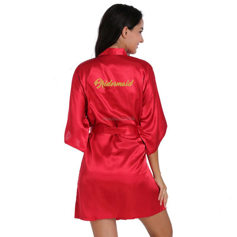 compõem roupão dourada dourada dourada vestes cintura laço laço de manhã vestido mulheres seda chemises vestido de noiva e arenoso