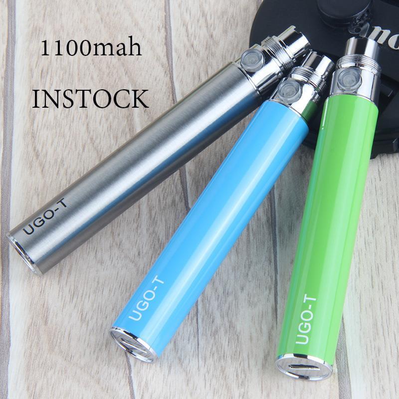 Vape Pen Batterie 510 Batterie 510 Gewinde Batterie UGO T 1100mAh E Zigaretten Carts Batterien USB-Ladegerät-Qualitäts-Akkus