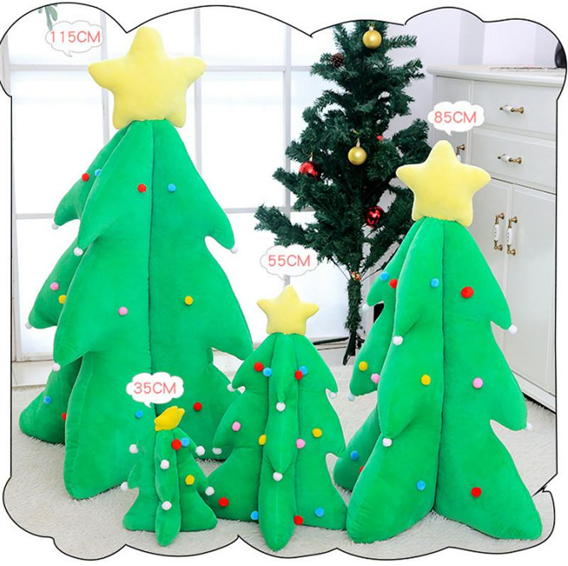 2020 Arbre de Noël Scène de Noël Décoration Peluche Toys Jeune Mall Mobilier En gros