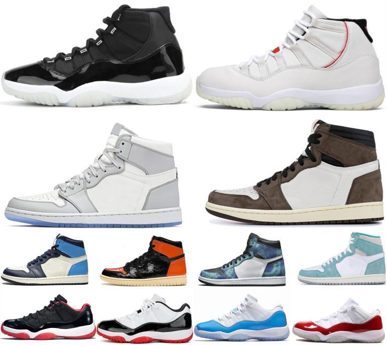 Nike Air Max Retro Jordan Shoes مع BOX الرجعية ولدت الجديد 2019 أحذية Jumpman 23 رجل إمرأة كرة السلة XII 11 11S الأسطورة الأزرق كونكورد 45 UNC المدربين أحذية رياضية