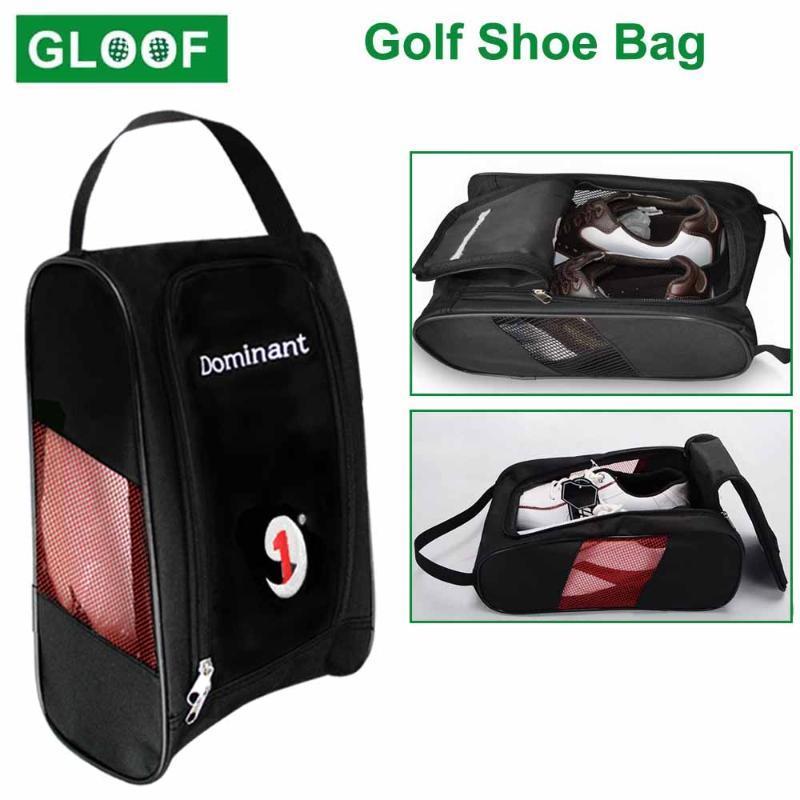 1 PCS Golf Shot Saco Durável Sapato de Golfe Transportadora de Viagens de Zíper com Mesh Ventilação Acessório Organizador de Esportes ao ar livre