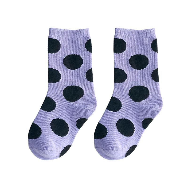 High New Knee Baby Children Calcetines de moda con calcetines de niños de impresión para niñas para el otoño bebé Toaddle Boy Long Dots 1-8Y1 47O3E