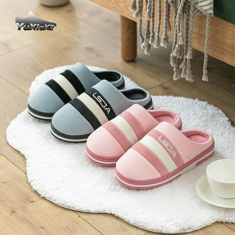 Pantoufles de coton Femme Femme Femme Femmes Chaussures Fall / Hiver Chaussons de coton chaud pour femmes Chaussons Home 0935 J1205