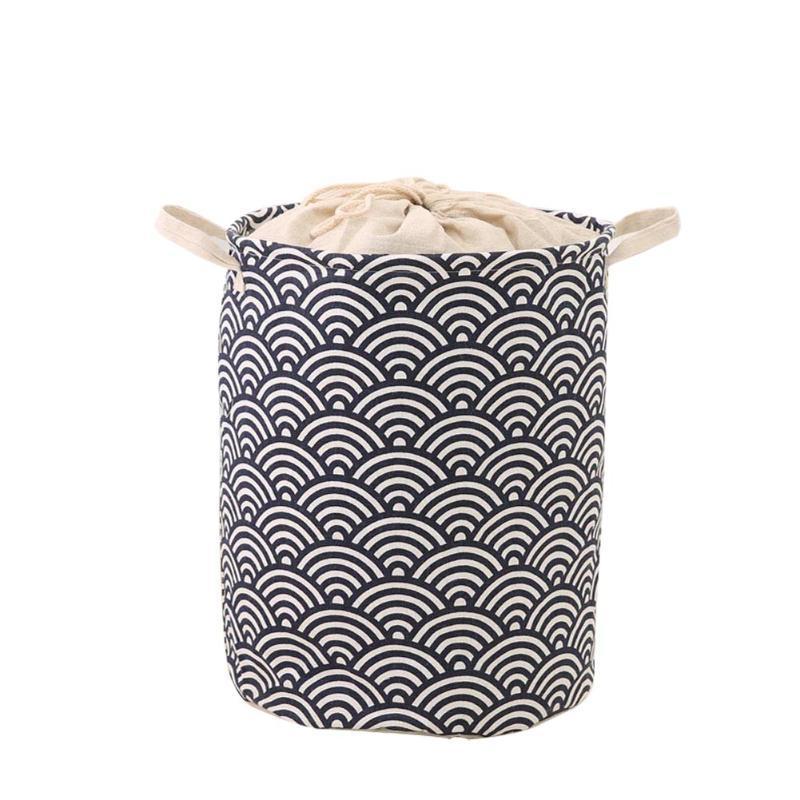 Dobrável Cesta de Roupa Suja Sundries sujos roupa Toy Meias Caixa de armazenamento lar Roupa de lavagem Organizador @LS
