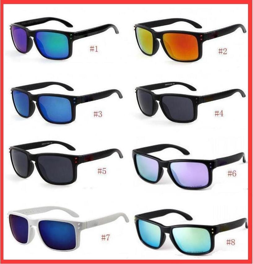 الرجال النساء الرياضة الاستقطاب نظارات الشمس مصمم نظارات 8 ألوان أزياء الدراجات النظارات الشمسية الرجال النظارات الشمسية الجودة A ++