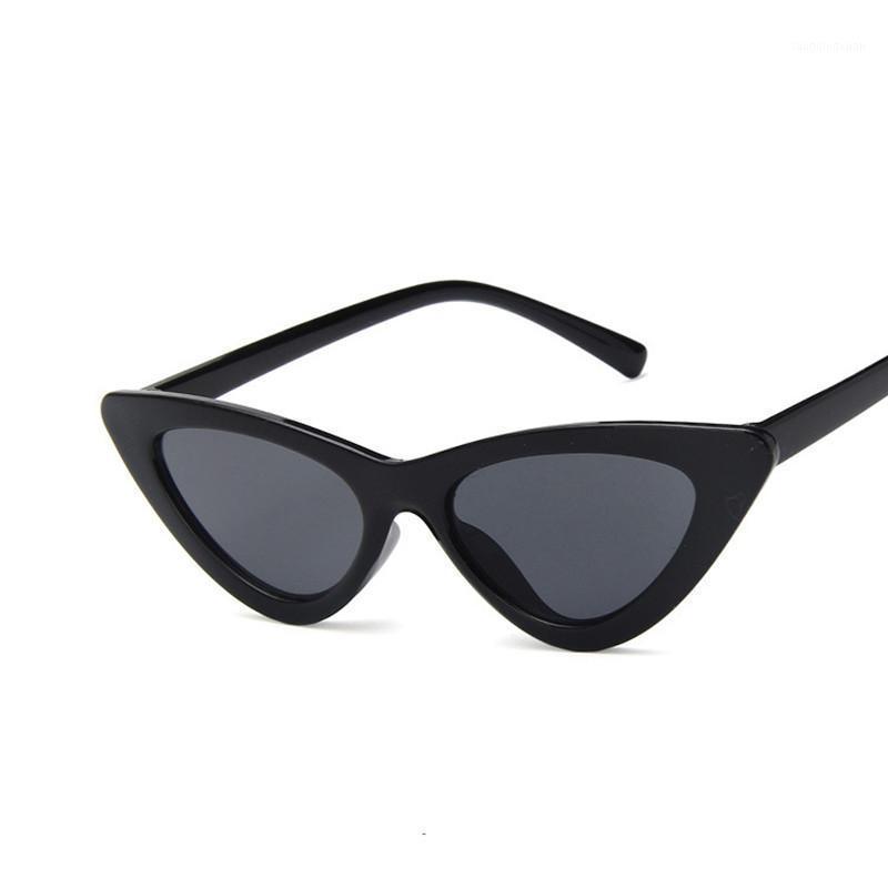 2020 Neue Harajuku Retro Rundrahmen Sonnenbrille Metall Thin Rim Sonnenbrille Weibliche Net Red Trend1