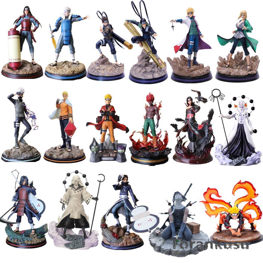 Наруто действия фигурки Мадара Какаши Итачи Цунаде может парень хасирама статуя аниме наруто Sippuden Figurine Dioarama PVC игрушки Q1123