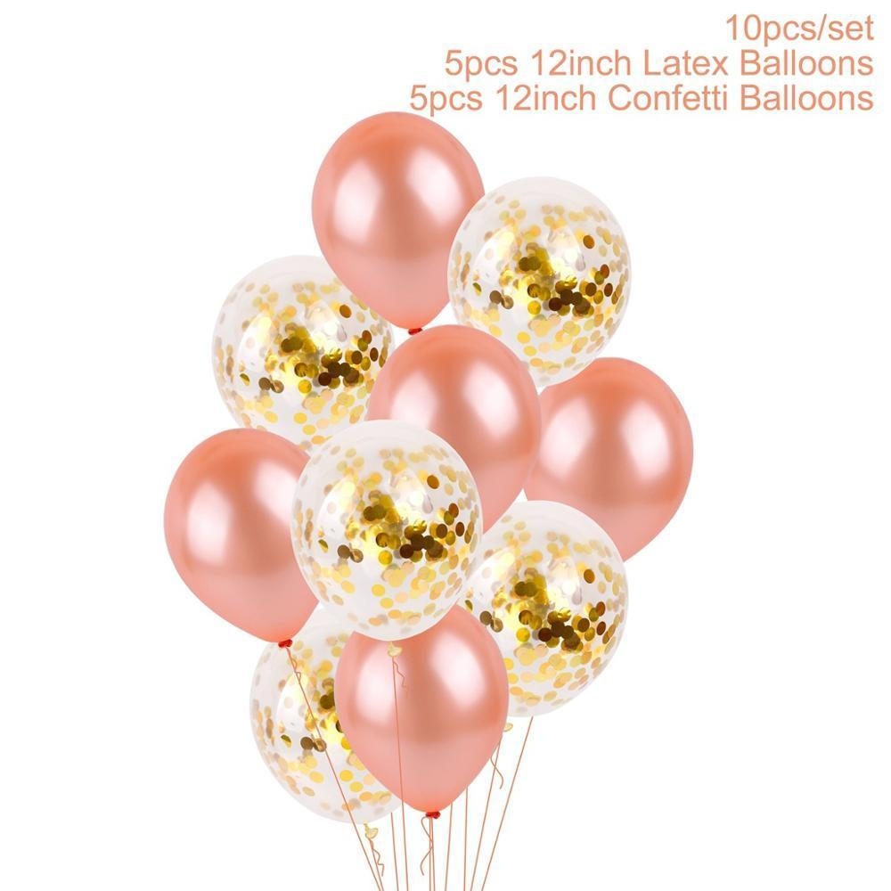 بالونات عيد ميلاد الحب Qifu بالون احباط الذكرى بالون سعيد إلكتروني حزب الهواء الهدايا الزفاف الديكور عيد الحب BWE3016