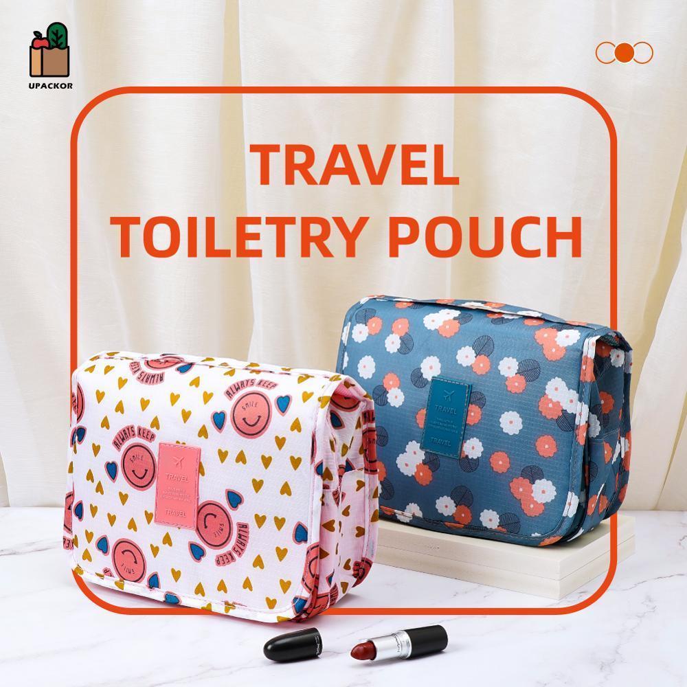 Tasche reise make-up weiblich tragbare frauen kollektion badezimmer wasserdichte kosmetik hängende lagerung waschen ackackor taschen fällen tasche nvoma
