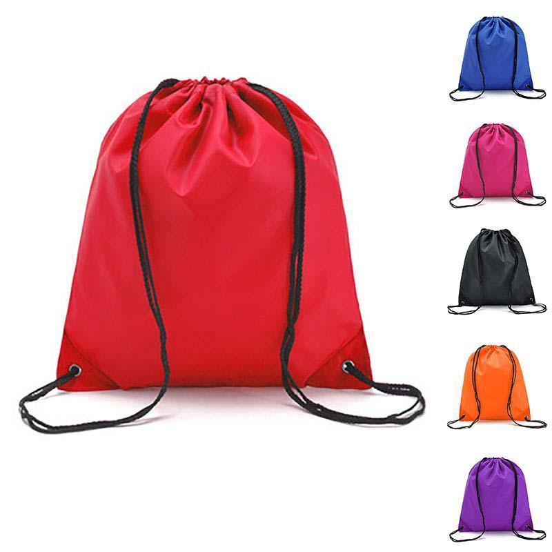 Portable Sports Bag Waterproof Swimming Bag Drawstring Gym Dance Riding Backpack Drawstring Shoes Clothes Organizer Pack