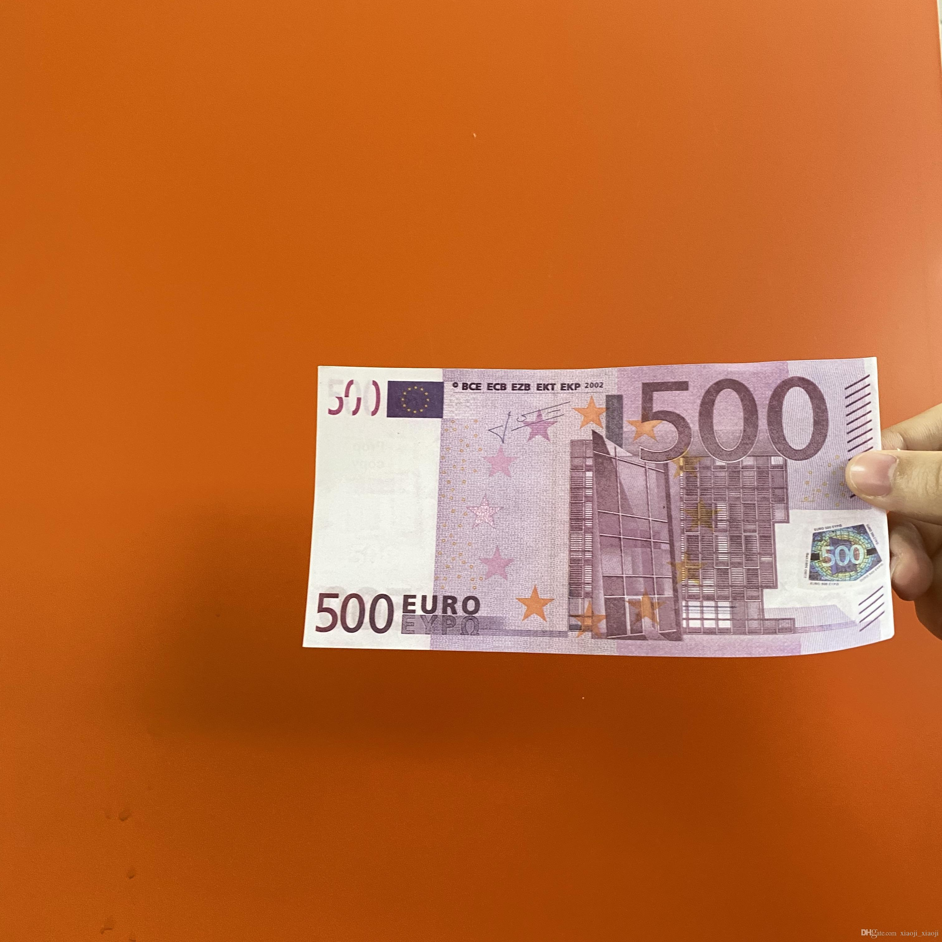 Bar Faux Money Billet Adult 10 Prop 50 Toys Pack Game Euro Fake Money Party Children's 20 100 500 100pcs 200 Omjcd