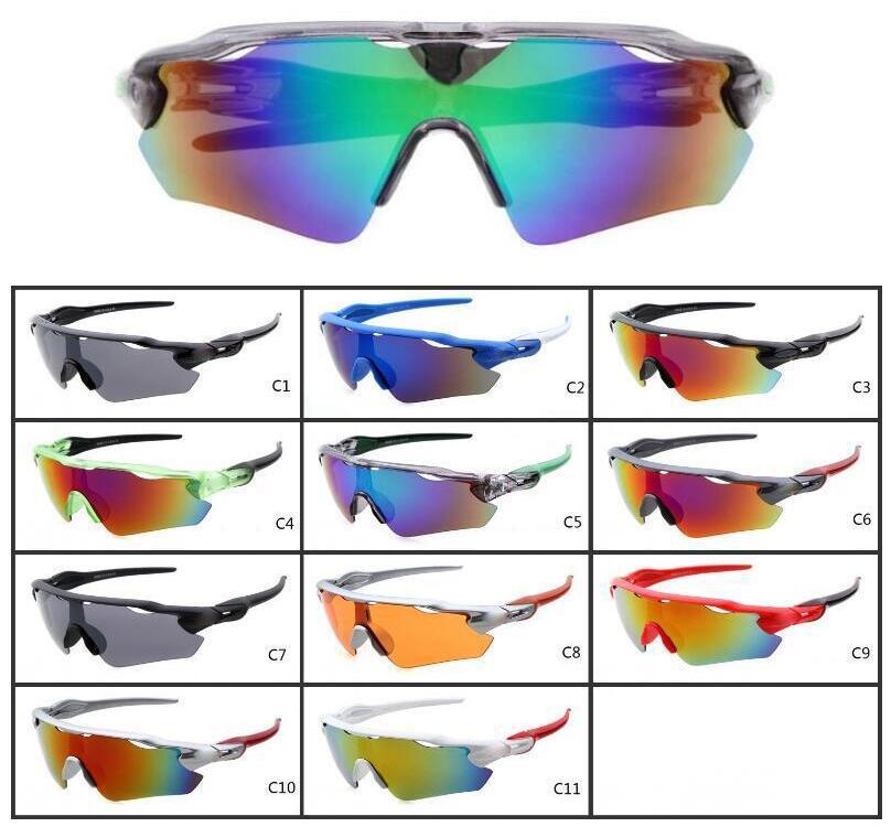 أزياء المشي لمسافات طويلة نظارات عيون حامي الرياضة دراجة الشمس نظارات الشمس UV400 الدراجات نظارات نظارات واجهزة الدراجات النظارات الشمسية للرجال