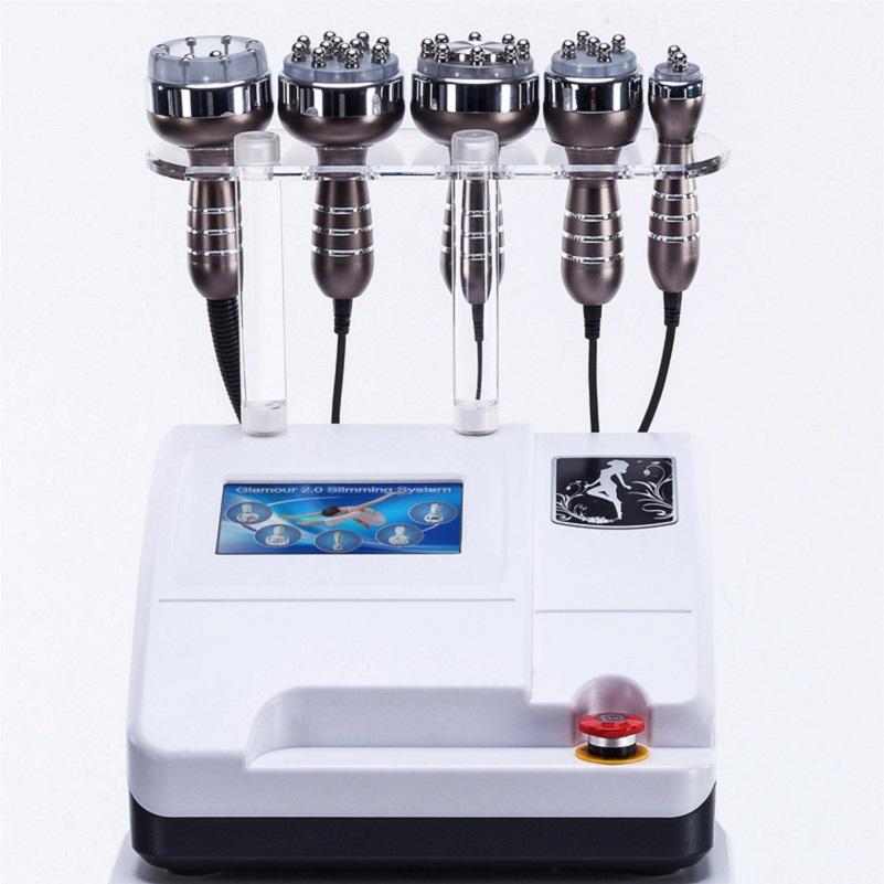 5 em 1 40k máquina de beleza a vácuo ultra-sônico para a remoção de celulite peso de perda de gordura Equipamento de levantamento da pele