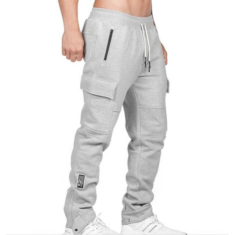 2021 Jogger Men of Bodybuilding Gym to Runners Hip Hop Sweat Sweat Pantaloni AllentatiPants X56y